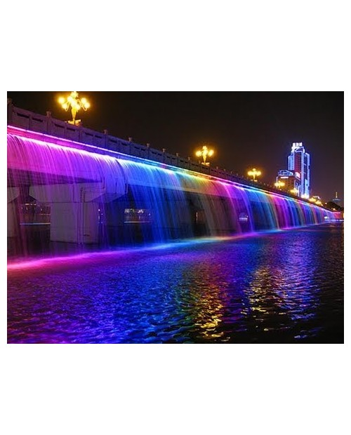 CASCADA REF 600-25 8W EMAUX LED COLOR