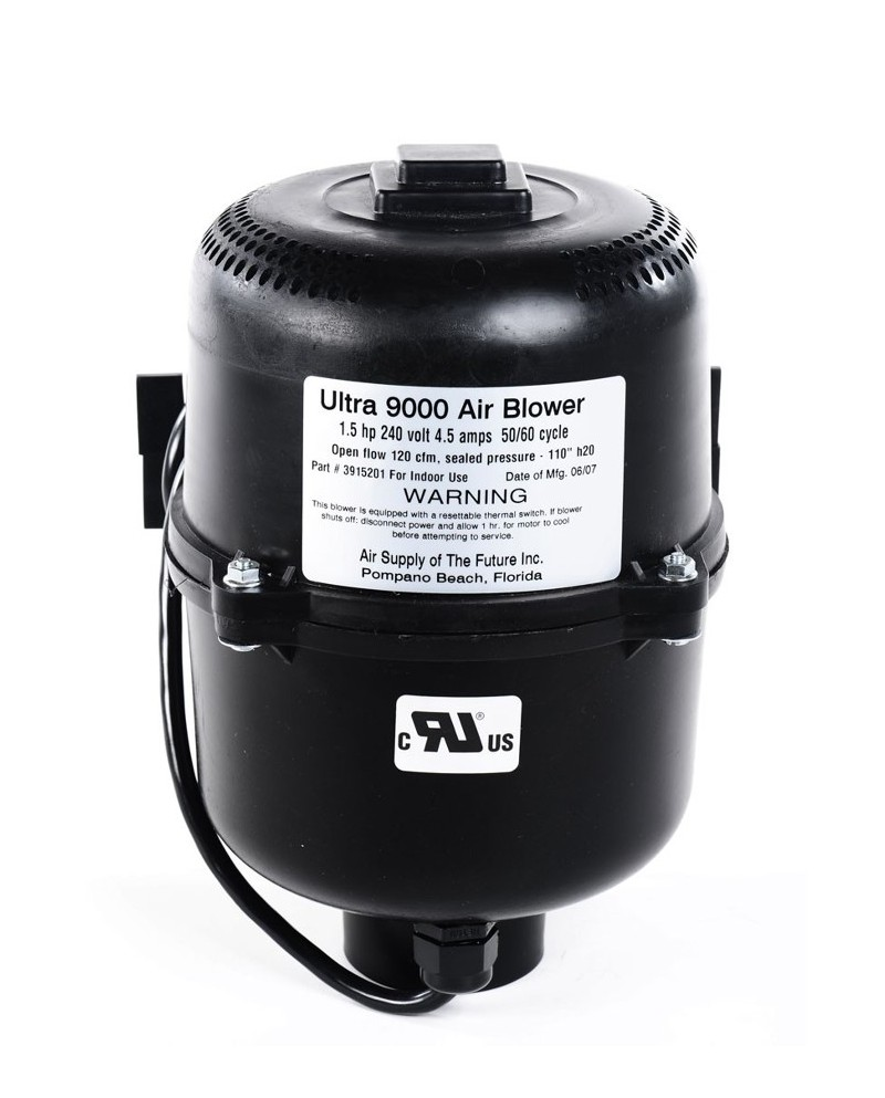 BLOWER DE 2 HP 220V ULTRA 9000 AIR SUPPLY