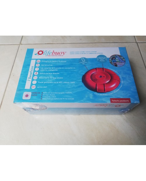 Alarma de inmersion lifebuoy para piscina
